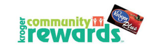 image may contain: Kroger Community Rewards logo with image of Kroger Plus Card, click here to link you Kroger Plus card to benefit Hannah Center